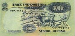 1000 Rupiah INDONÉSIE  1975 P.113a NEUF