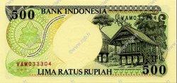 500 Rupiah INDONÉSIE  1992 P.128a NEUF