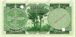 1/4 Dinar IRAK  1959 P.051s NEUF