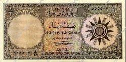 1/2 Dinar IRAK  1959 P.052b NEUF
