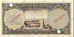 1/2 Dinar IRAK  1959 P.052s NEUF