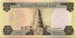 1/2 Dinar IRAK  1973 P.062 NEUF