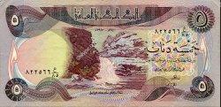 5 Dinars IRAK  1980 P.070a TTB à SUP