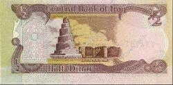 1/2 Dinar IRAK  1993 P.078b NEUF