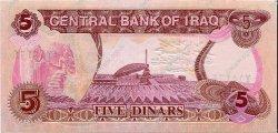 5 Dinars IRAK  1992 P.080a NEUF