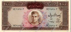 1000 Rials IRAN  1969 P.089 pr.NEUF