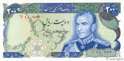 200 Rials IRAN  1974 P.103e NEUF