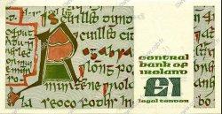 1 Pound IRLANDE  1989 P.070d SUP+