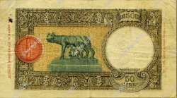 50 Lire ITALIE  1936 P.054a TB
