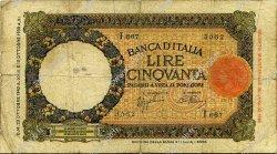 50 Lire ITALIE  1940 P.054b B