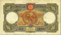 100 Lire ITALIE  1937 P.055b TTB