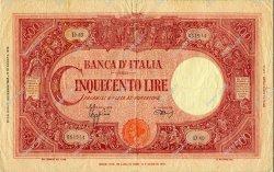 500 Lire ITALIE  1944 P.070c TB+