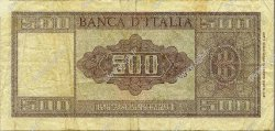 500 Lire ITALIE  1947 P.080a TB
