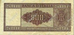 500 Lire ITALIE  1947 P.080a pr.TTB