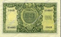 50 Lire ITALIE  1951 P.091a TTB+