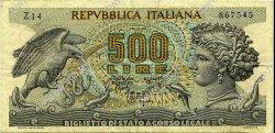 500 Lire ITALIE  1967 P.093a TTB