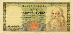 50000 Lire ITALIE  1970 P.099b pr.SUP