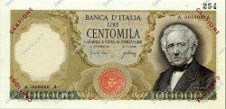 100000 Lire ITALIE  1967 P.100as SPL