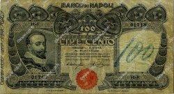 100 Lire ITALIE  1908 PS.857 pr.TB