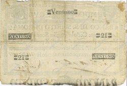 21 Scudi ITALIE  1786 PS.319 TB