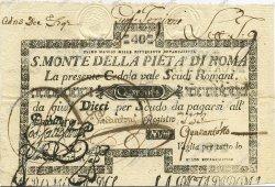 40 Scudi ITALIE  1786 PS.338 SUP