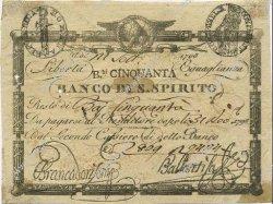 50 Bajocchi ITALIE  1798 PS.523a TTB