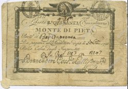40 Bajocchi ITALIE  1798 PS.527 pr.TB
