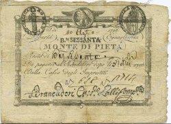 60 Bajocchi ITALIE  1798 PS.529 pr.TTB