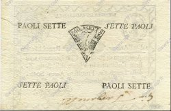7 Paoli  ITALIE  1798 PS.537 SUP+