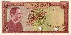 5 Dinars JORDANIE  1959 P.11s SPL