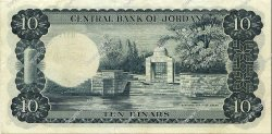 10 Dinars JORDANIE  1959 P.12a SUP