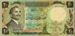 20 Dinars JORDANIE  1977 P.21a SPL