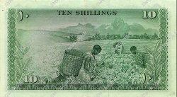 10 Shillings KENYA  1968 P.02c SUP