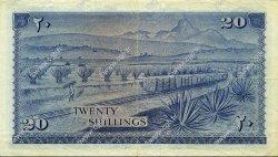 20 Shillings KENYA  1967 P.03b TTB