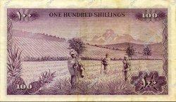 100 Shillings KENYA  1966 P.05a TTB+