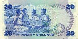 20 Shillings KENYA  1981 P.21a NEUF