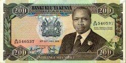 100 Shillings KENYA  1984 P.23c SUP