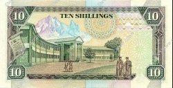 10 Shillings KENYA  1990 P.24b