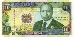 10 Shillings KENYA  1992 P.24d NEUF