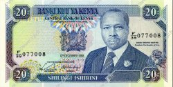 20 Shillings KENYA  1988 P.25a NEUF