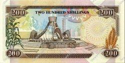 200 Shillings KENYA  1993 P.29e NEUF