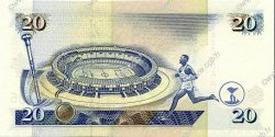 20 Shillings KENYA  1997 P.35b NEUF