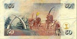 50 Shillings KENYA  1996 P.36a TTB+