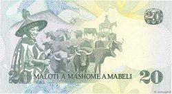 20 Maloti LESOTHO  1984 P.07b NEUF