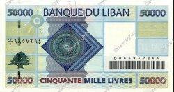 50000 Livres LIBAN  2004 P.88 pr.NEUF