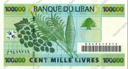 100000 Livres LIBAN  2004 P.89 pr.NEUF
