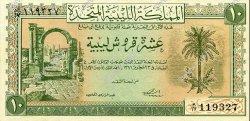 10 Piastres LIBYE  1951 P.06 pr.NEUF