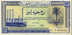 1/4 Pound LIBYE  1951 P.07 NEUF