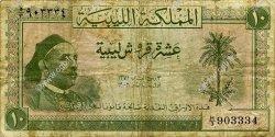 10 Piastres LIBYE  1952 P.13 B