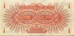 1/4 Pound LIBYE  1952 P.14 TTB